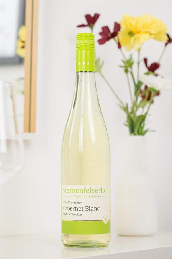 2016er Niersteiner Cabernet Blanc Spätlese trocken